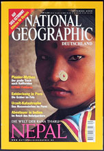 National Geographic Titelseite